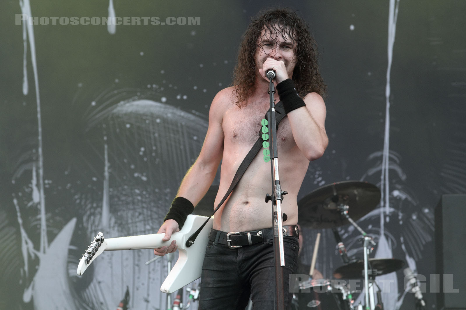 AIRBOURNE - 2014-08-24 - SAINT CLOUD - Domaine National - Grande Scene