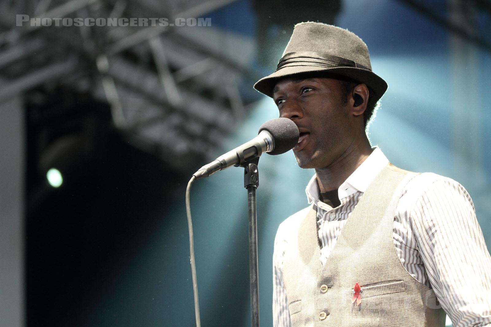 ALOE BLACC - 2011-06-26 - PARIS - Hippodrome de Longchamp