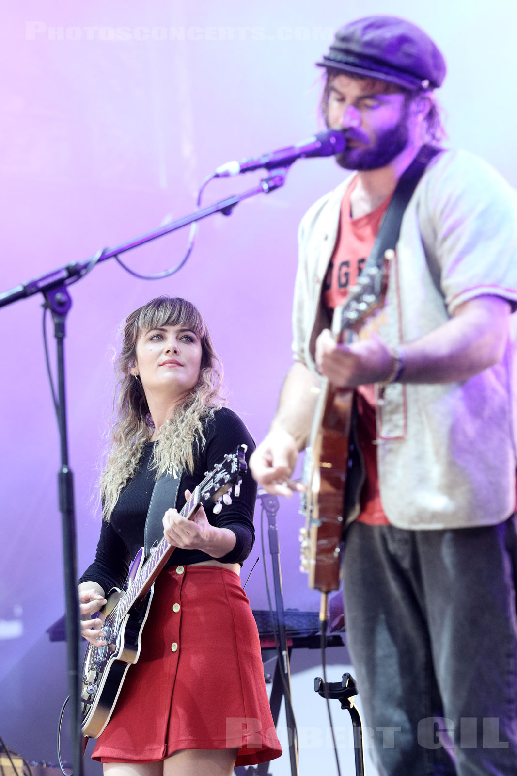 ANGUS AND JULIA STONE - 2015-06-26 - PARIS - Hippodrome de Longchamp