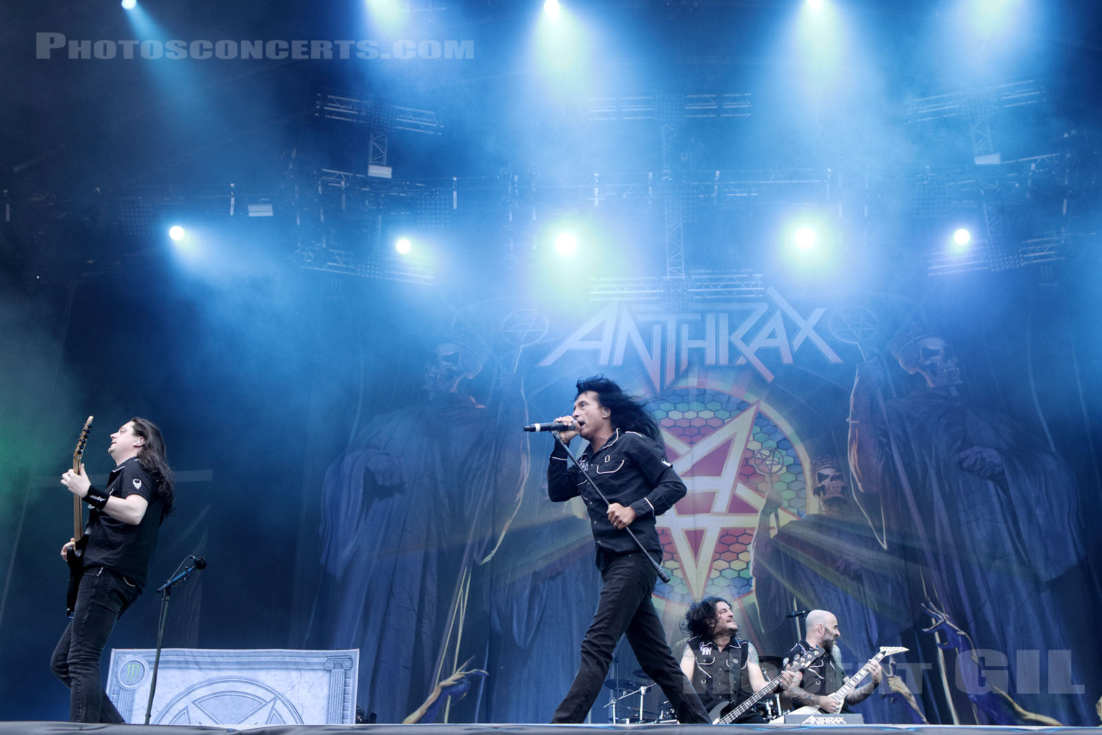 ANTHRAX - 2016-06-10 - PARIS - Hippodrome de Longchamp - Stage 2