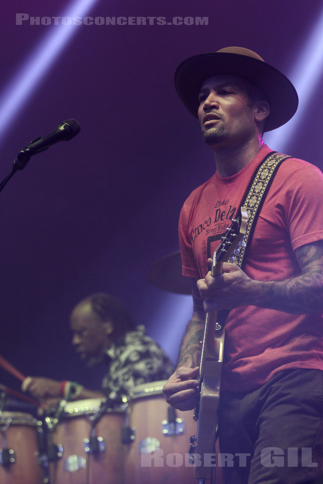 BEN HARPER AND THE INNOCENT CRIMINALS - 2015-07-03 - BELFORT - Presqu'ile du Malsaucy