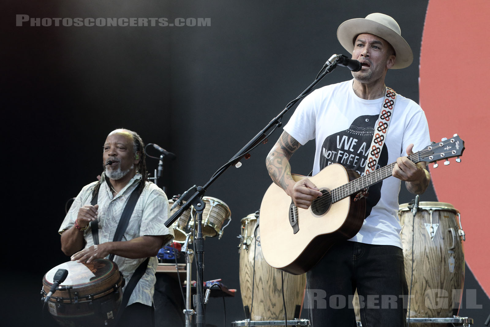BEN HARPER AND THE INNOCENT CRIMINALS - 2019-07-06 - HEROUVILLE SAINT CLAIR - Chateau de Beauregard - Scene Beauregard