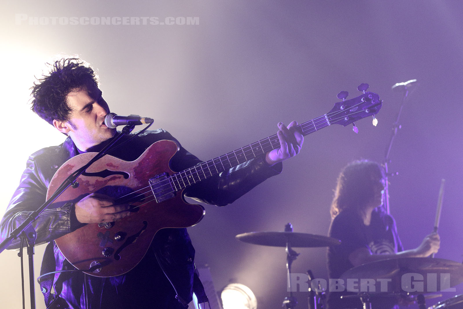 BLACK REBEL MOTORCYCLE CLUB - 2017-11-22 - PARIS - Elysee Montmartre