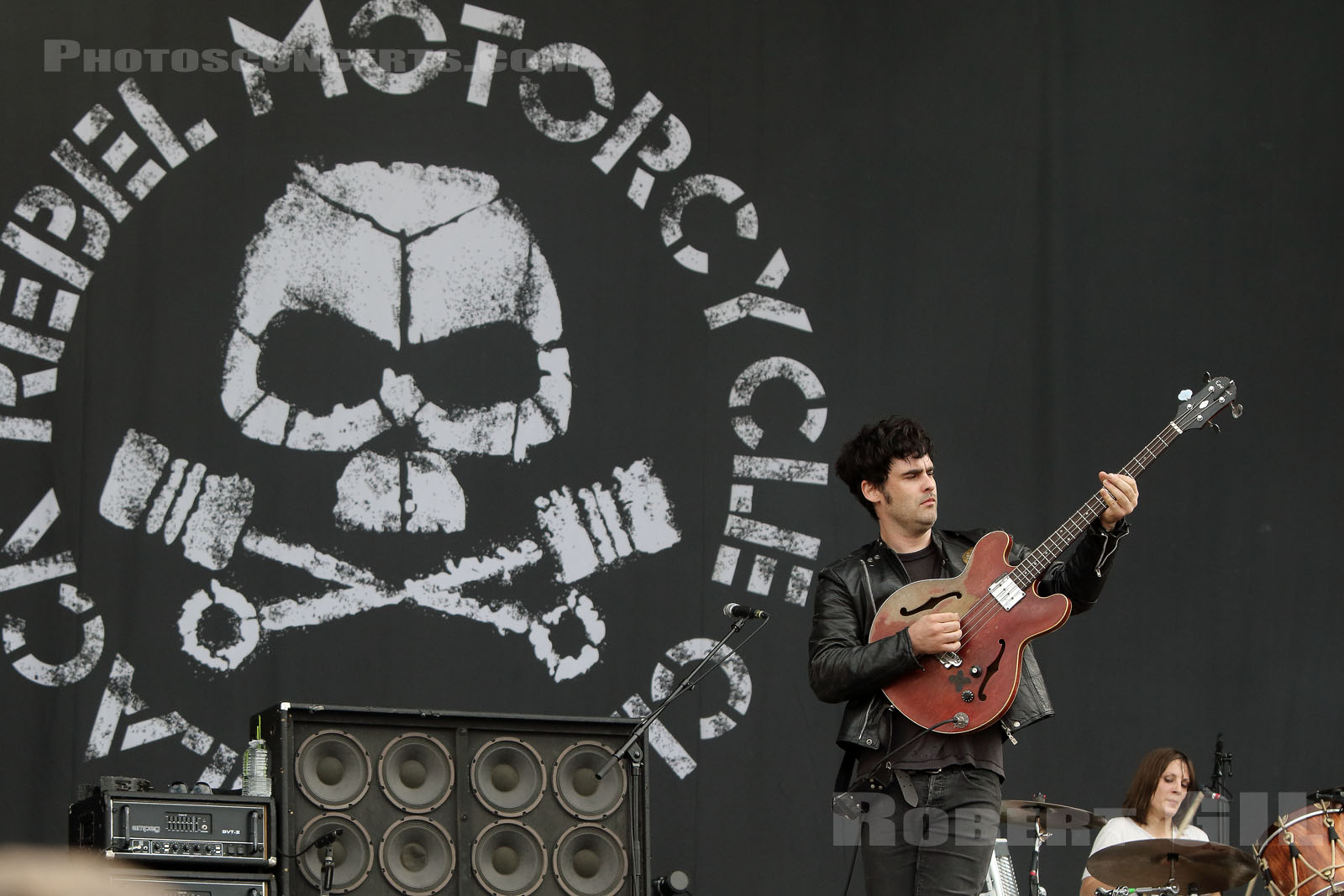 BLACK REBEL MOTORCYCLE CLUB - 2018-07-21 - PARIS - Hippodrome de Longchamp - Main Stage 2