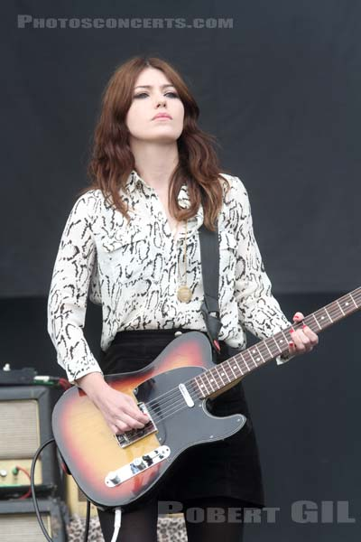 BLOOD RED SHOES - 2014-08-24 - SAINT CLOUD - Domaine National - Grande Scene