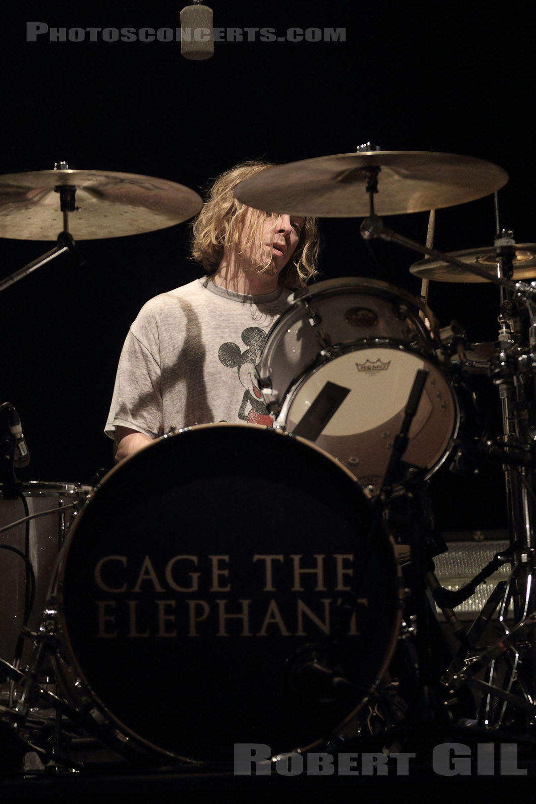 CAGE THE ELEPHANT - 2017-01-25 - PARIS - Elysee Montmartre