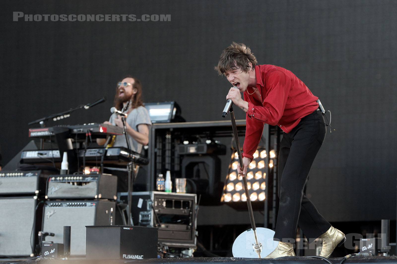 CAGE THE ELEPHANT - 2017-07-01 - ARRAS - La Citadelle - Main Stage