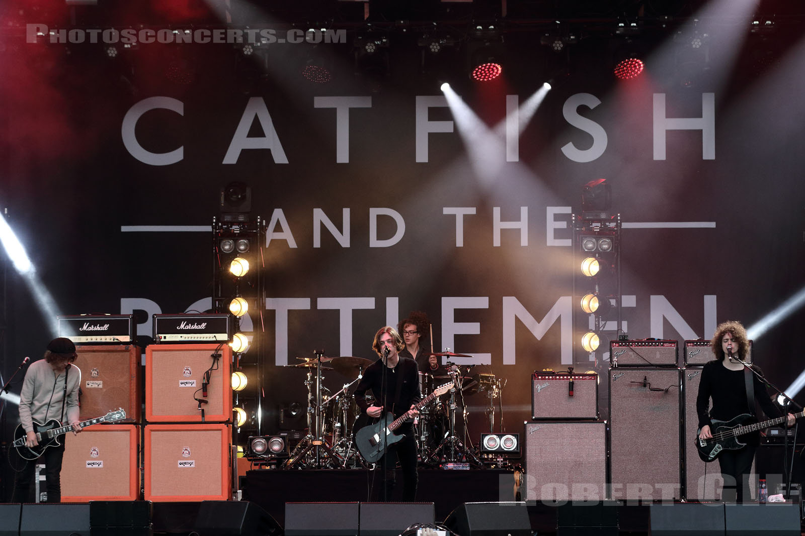 CATFISH AND THE BOTTLEMEN - 2015-08-28 - SAINT CLOUD - Domaine National - Scene Pression Live