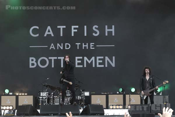 CATFISH AND THE BOTTLEMEN - 2018-07-22 - PARIS - Hippodrome de Longchamp - Main Stage 2