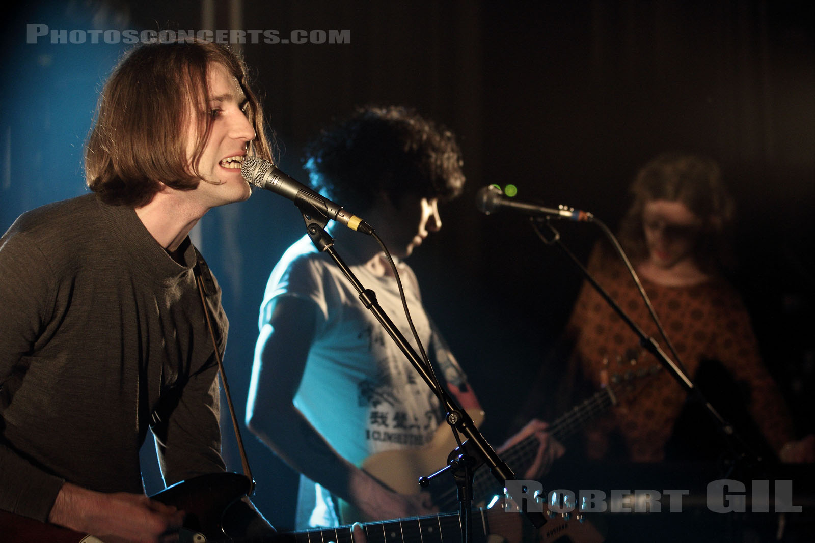 CHARLIE BOYER AND THE VOYEURS - 2013-04-20 - PARIS - La Maroquinerie