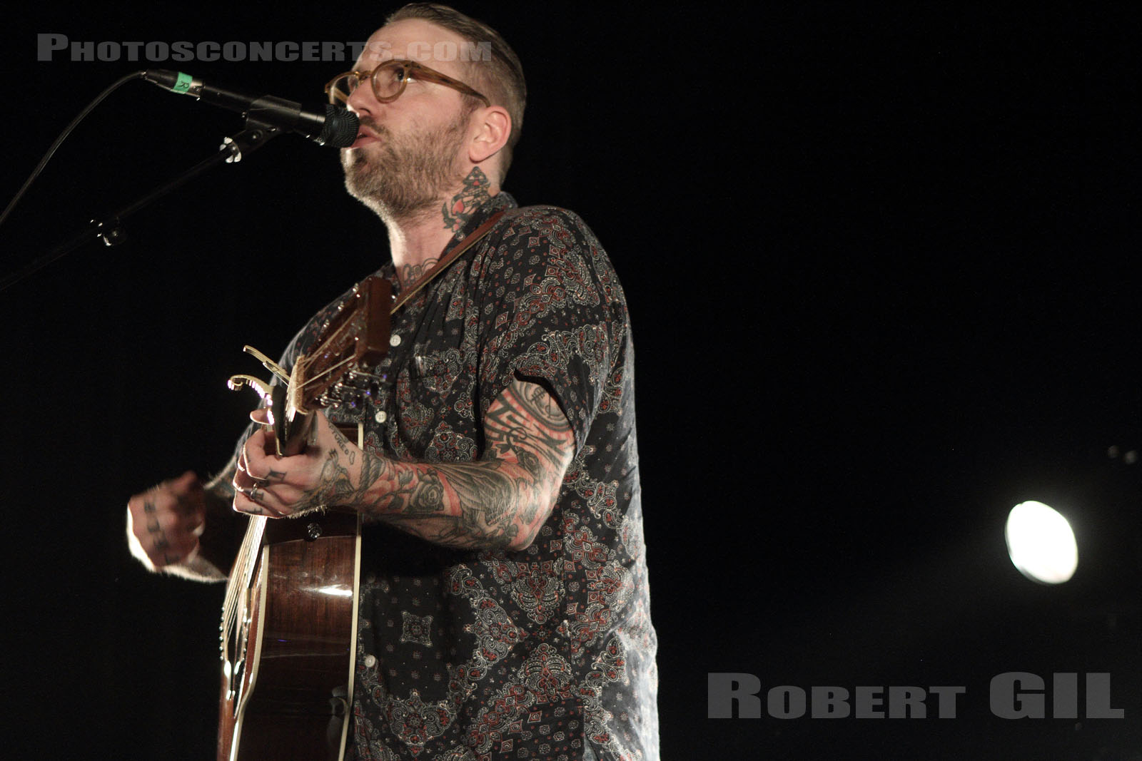 CITY AND COLOUR - 2013-06-07 - PARIS - Cafe de la Danse