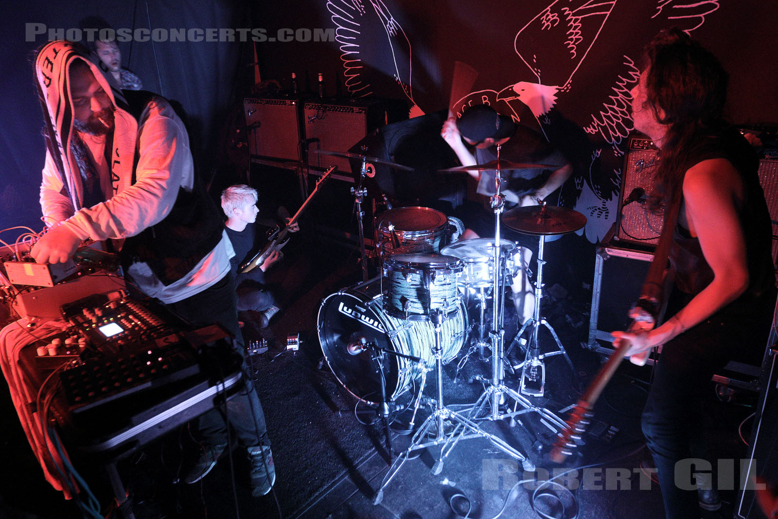 DESTRUCTION UNIT - 2015-09-28 - PARIS - Espace B
