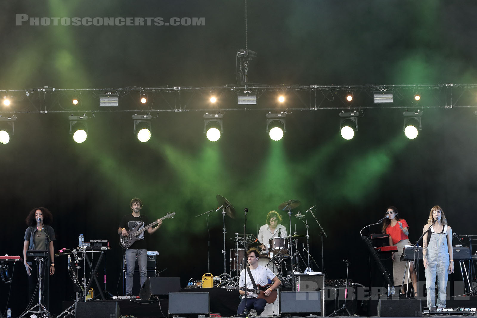 DIRTY PROJECTORS - 2018-08-24 - SAINT CLOUD - Domaine National - Scene de la Cascade