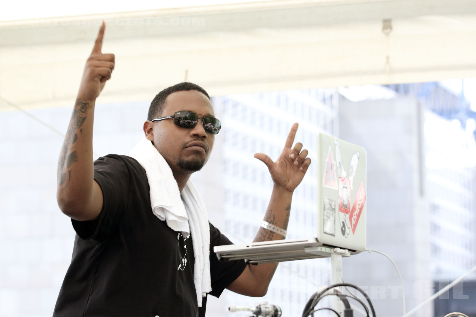 DJ RASHAD AND DJ SPINN - 2012-05-27 - PARIS - Parc de la Villette