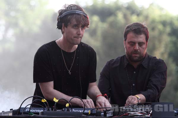DJ TENNIS AND LUKE JENNER - 2014-05-31 - PARIS - Parc de Bagatelle