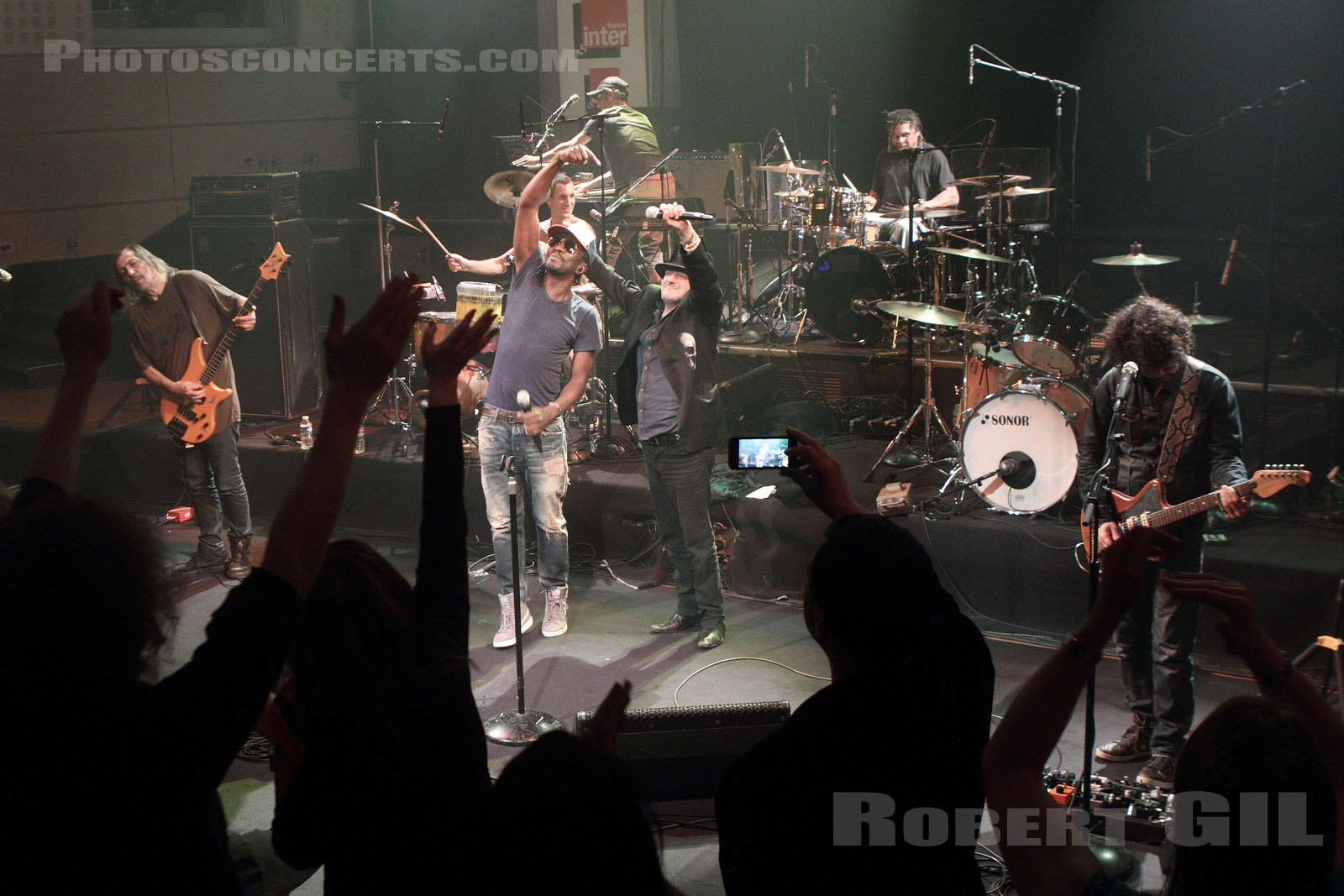 FFF - 2014-04-02 - PARIS - Radio France (Studio 105)