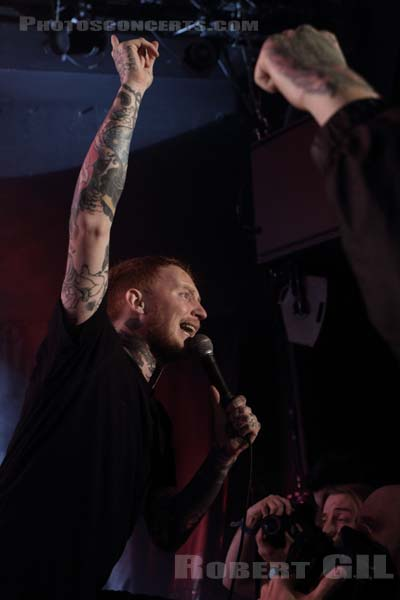 FRANK CARTER AND THE RATTLESNAKES - 2015-12-09 - PARIS - Trabendo