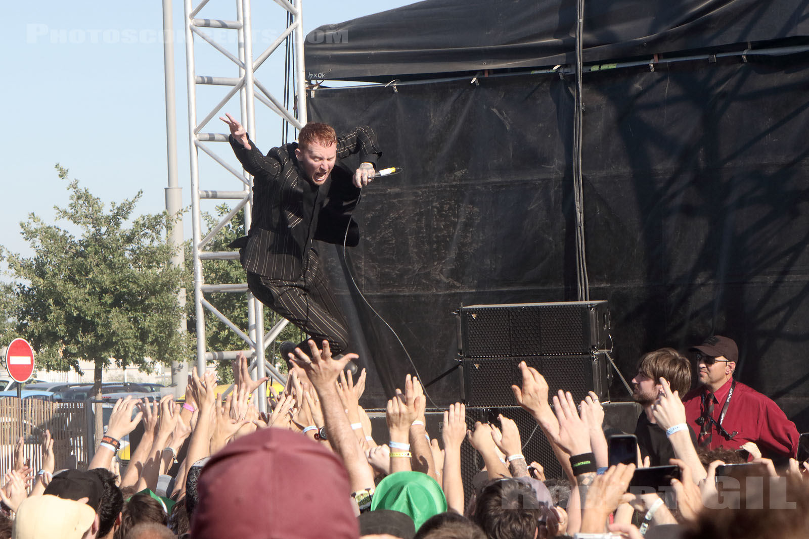 FRANK CARTER AND THE RATTLESNAKES - 2017-06-11 - NIMES - Paloma - Flamingo