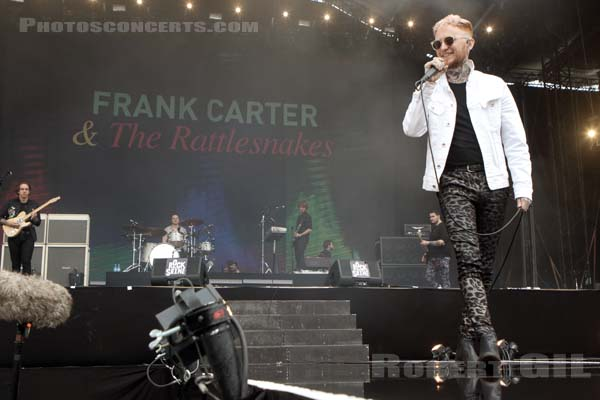 FRANK CARTER AND THE RATTLESNAKES - 2017-08-25 - SAINT CLOUD - Domaine National - Grande Scene