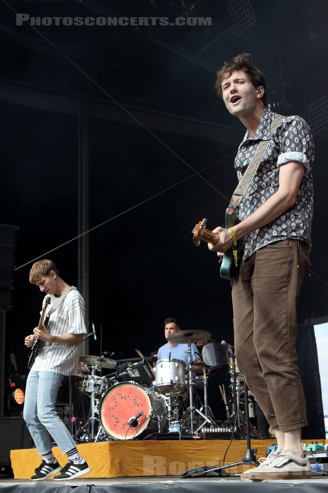 GLASS ANIMALS - 2017-07-22 - PARIS - Hippodrome de Longchamp - Alternative Stage