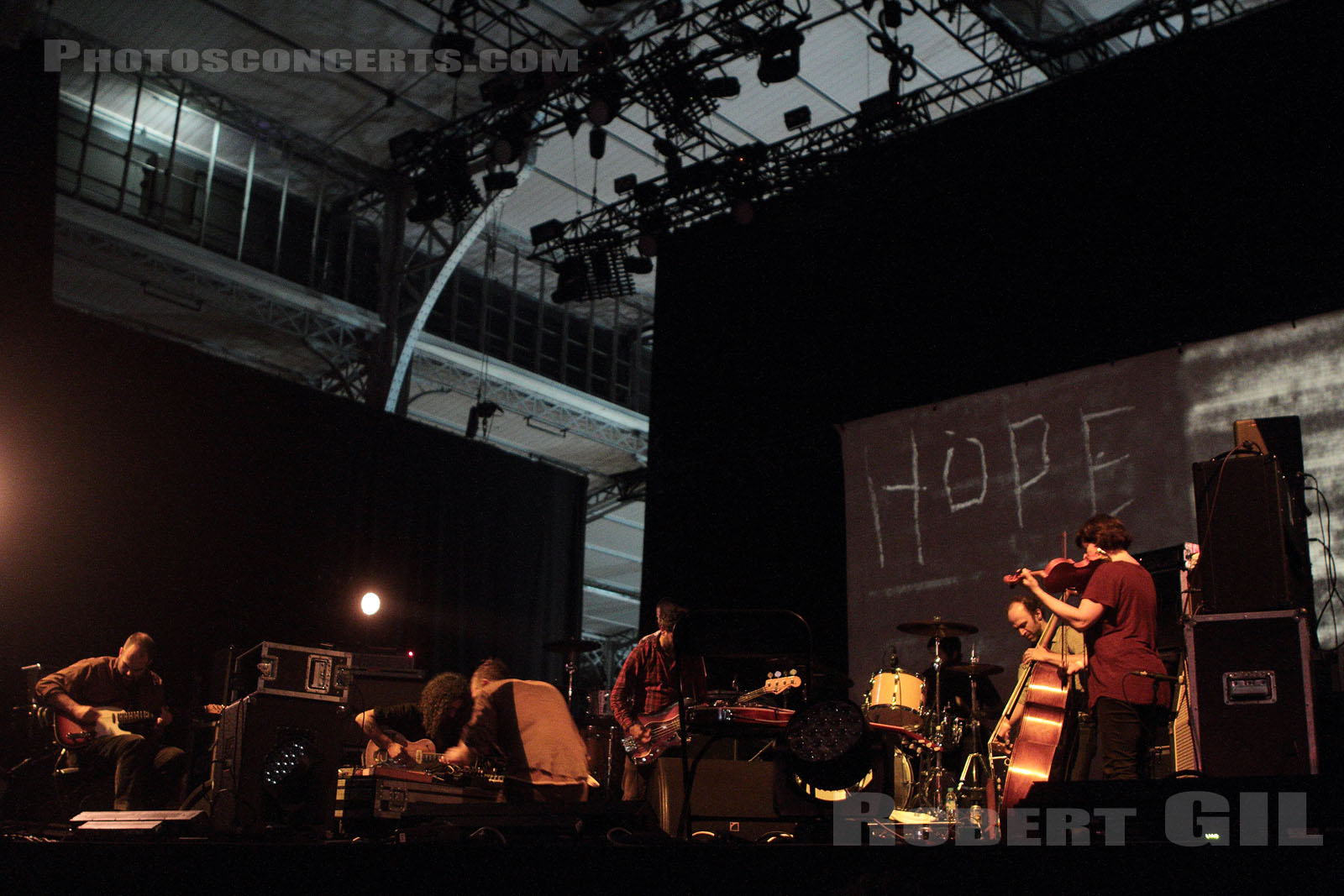 GODSPEED YOU! BLACK EMPEROR - 2015-10-29 - PARIS - Grande Halle de La Villette