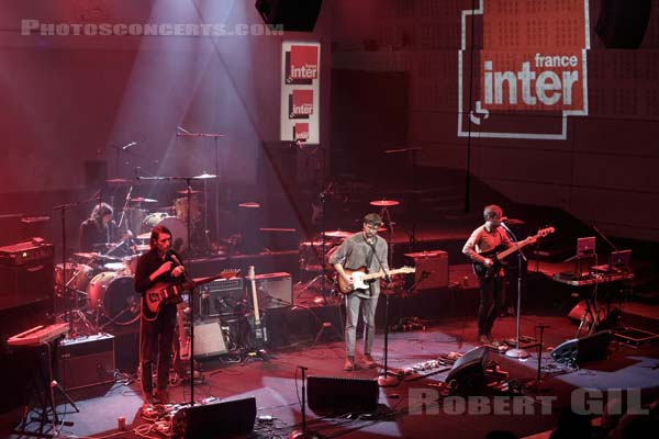GRASS HOUSE - 2014-01-15 - PARIS - Radio France (Studio 105)