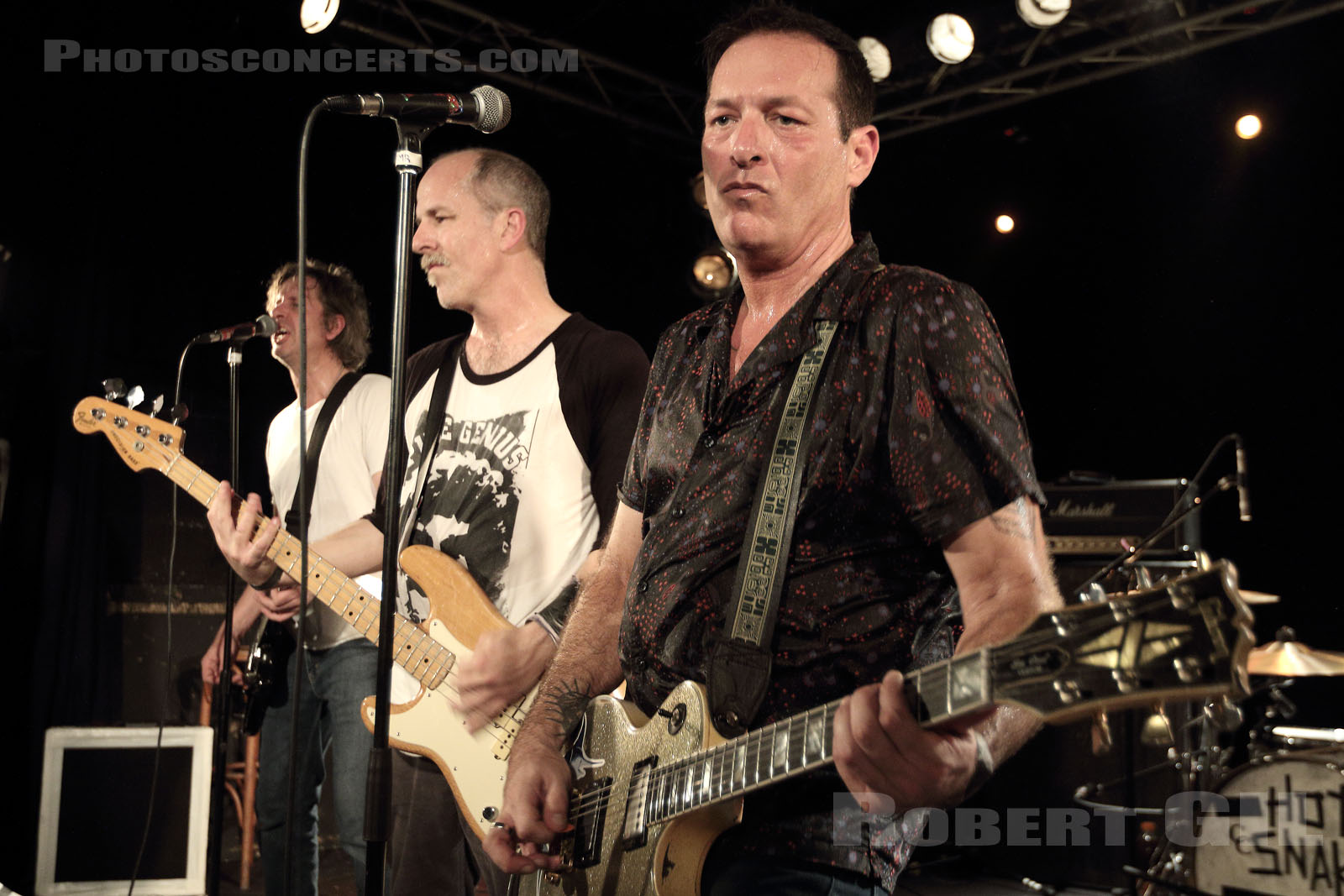 HOT SNAKES - 2018-11-13 - PARIS - Point Ephemere