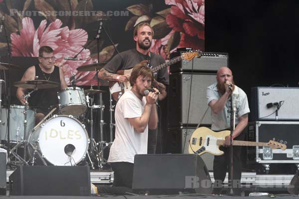 IDLES - 2018-08-26 - SAINT CLOUD - Domaine National - Scene de la Cascade