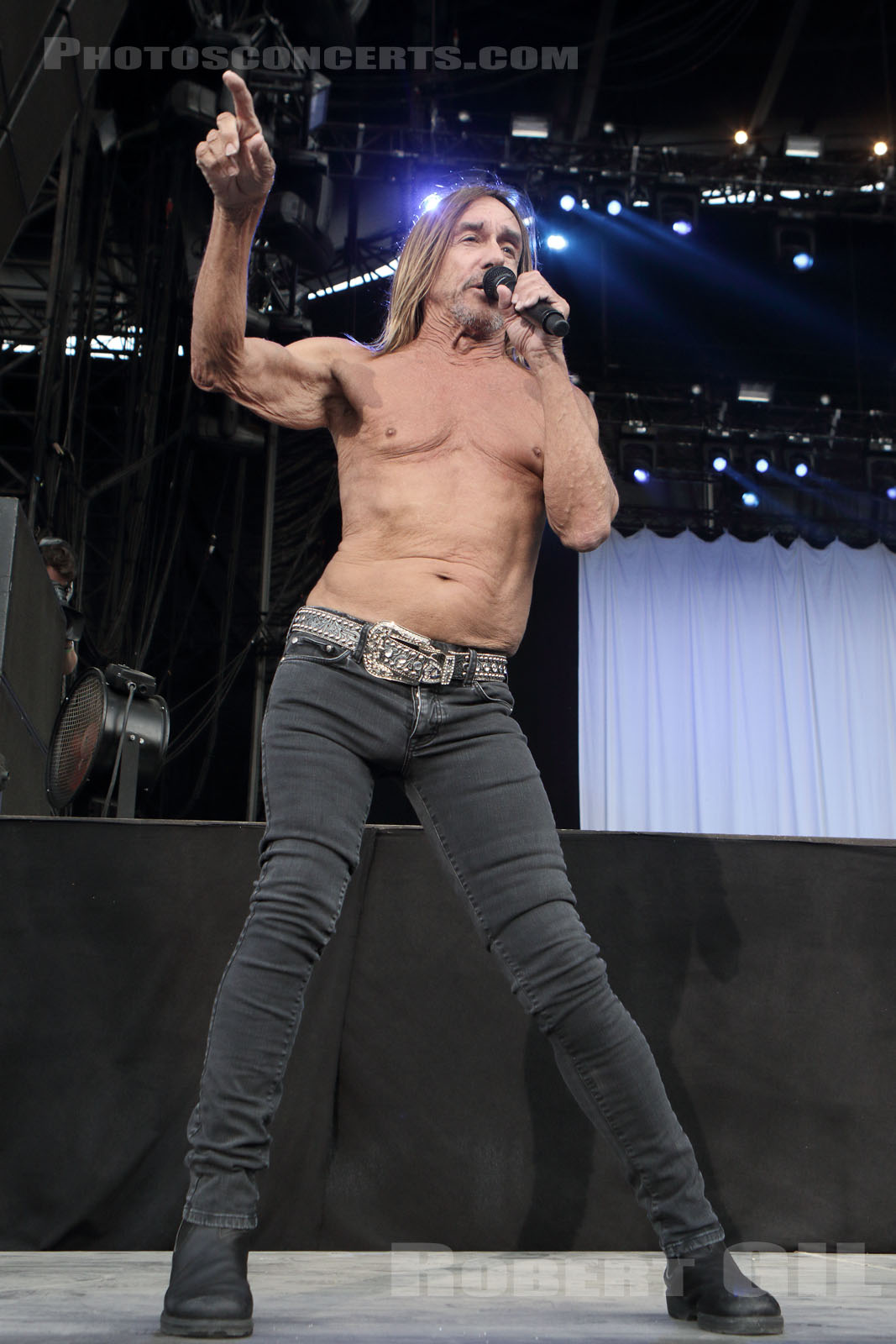 IGGY POP - 2016-08-28 - SAINT CLOUD - Domaine National - Grande Scene