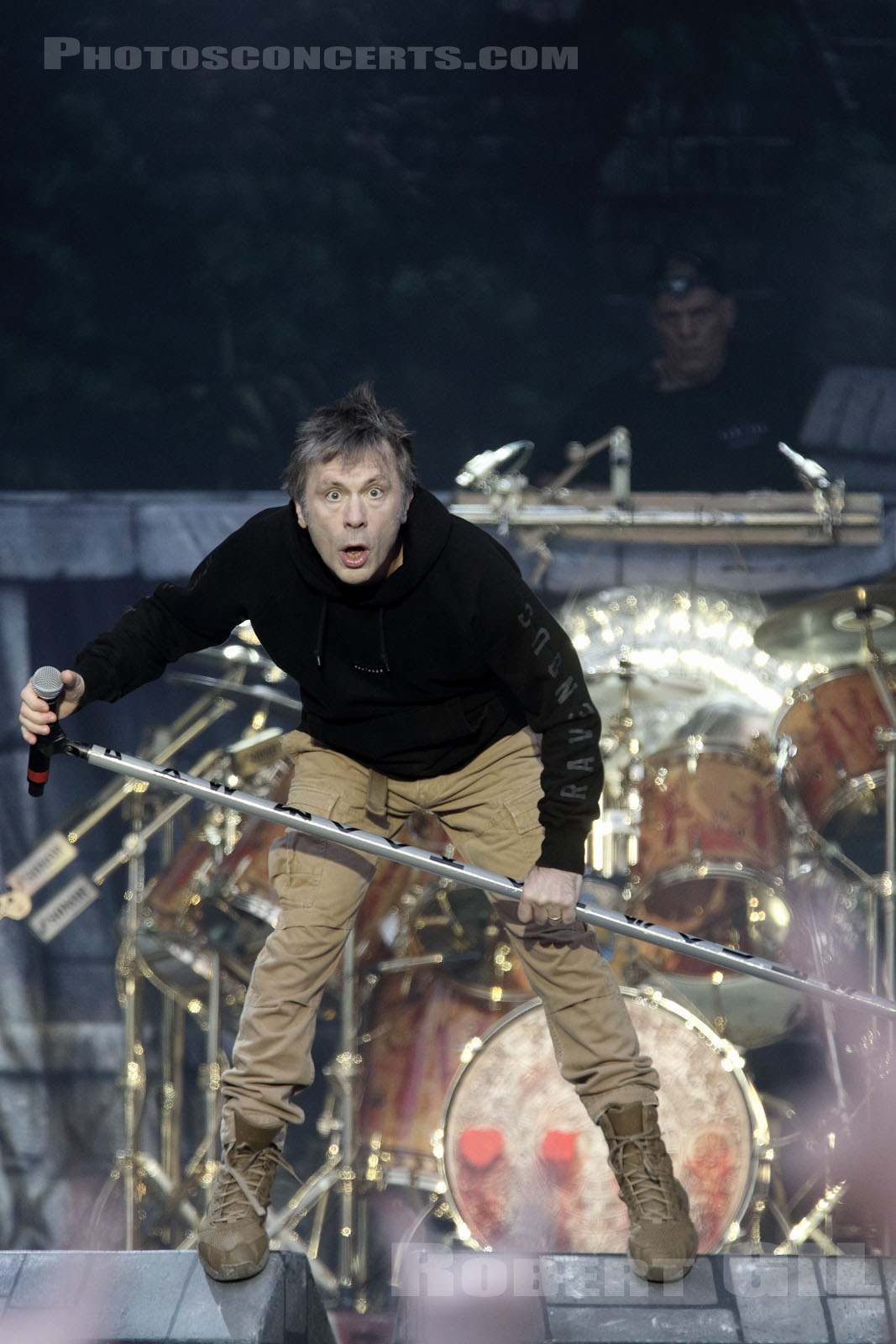 IRON MAIDEN - 2016-06-10 - PARIS - Hippodrome de Longchamp - Main Stage