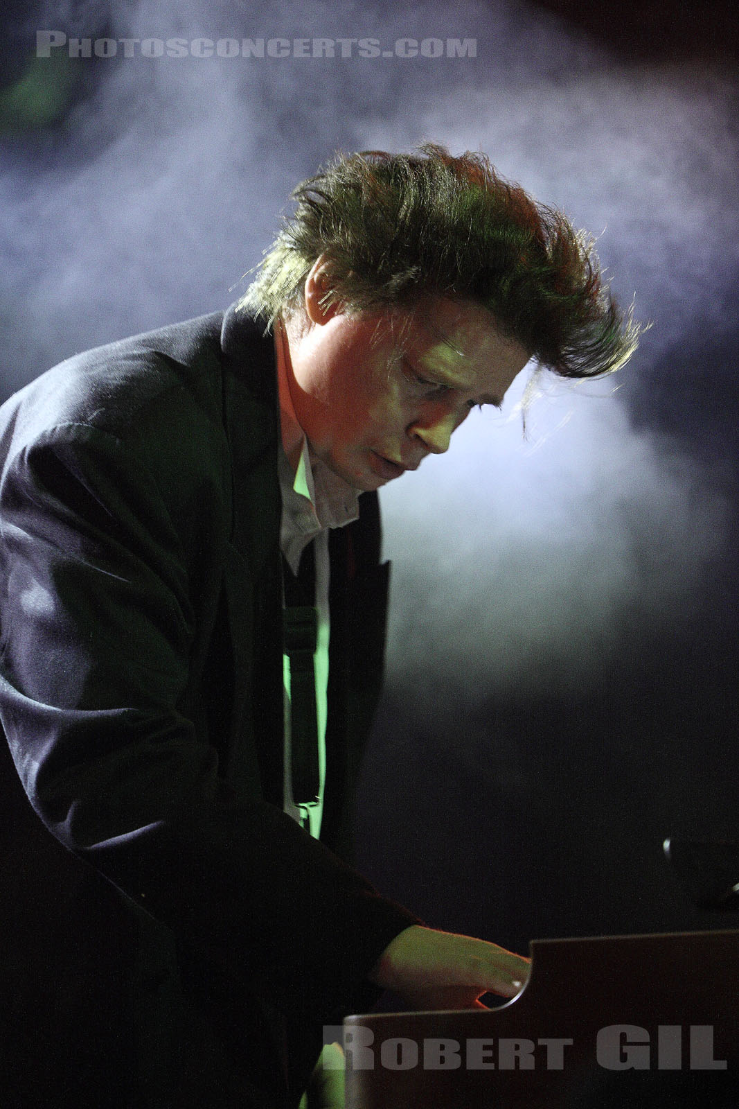 JAMES CHANCE AND THE CONTORSIONS - 2007-10-14 - PARIS - Nouveau Casino