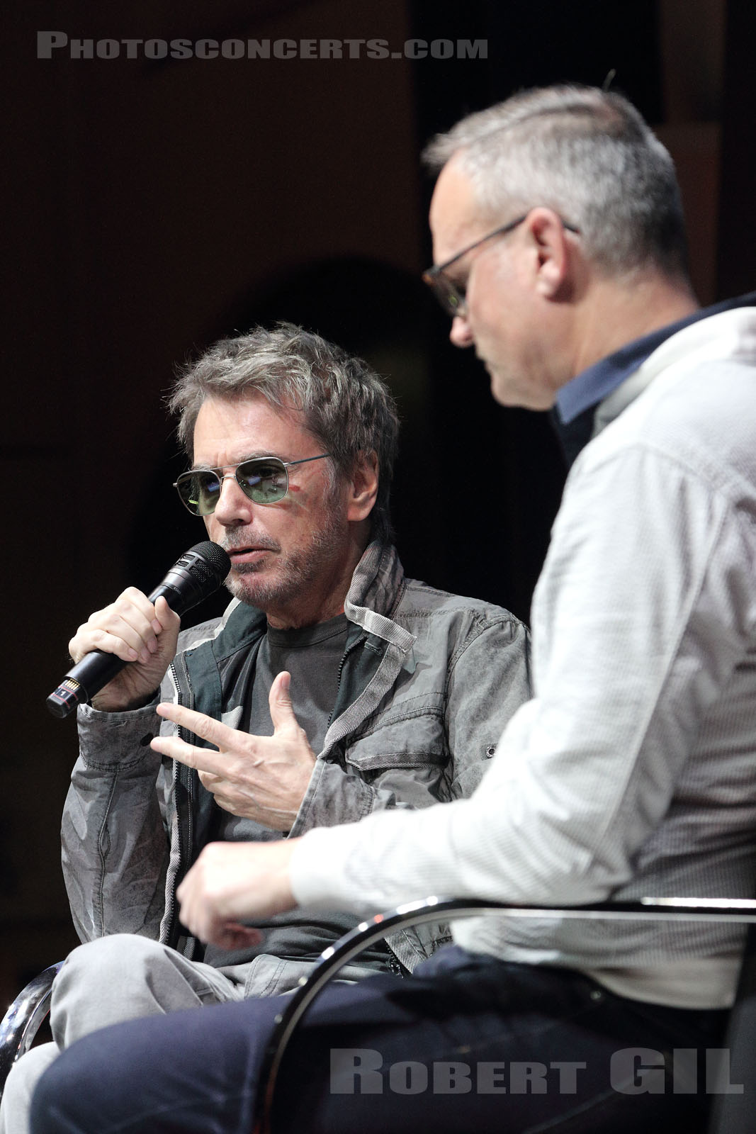 JEAN-MICHEL JARRE - 2019-04-20 - PARIS - Palais Brongniart - Grand Auditorium
