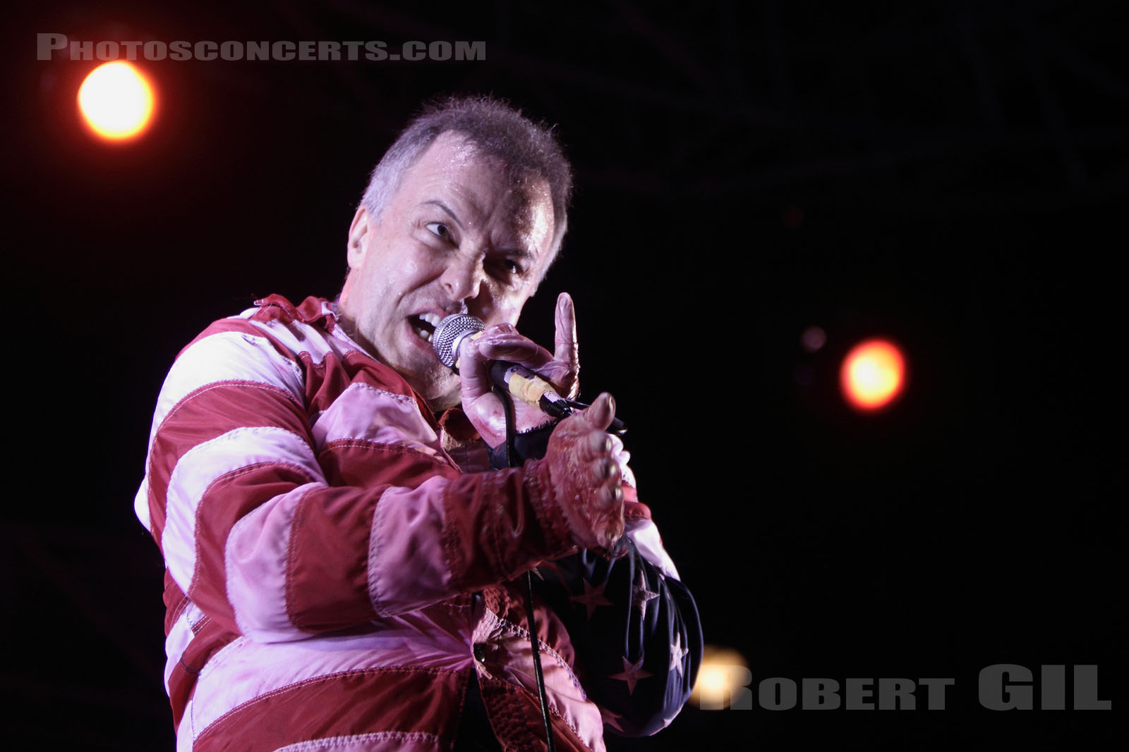 JELLO BIAFRA AND THE GUANTANAMO SCHOOL OF MEDECINE - 2010-08-28 - SAINT CLOUD - Domaine National - Scene de l'Industrie
