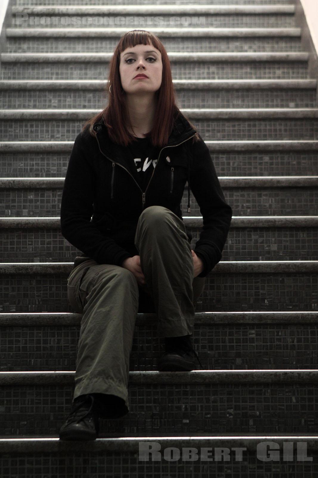 Photo portrait : JULIE CHRISTMAS, (SAINT OUEN) - 2011-04-18 - Robert ...