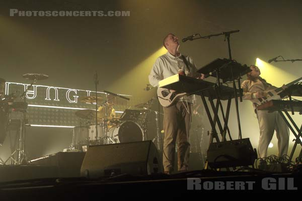 JUNGLE - 2017-11-03 - PARIS - Grande Halle de La Villette