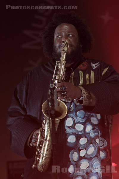 KAMASI WASHINGTON - 2017-11-03 - PARIS - Grande Halle de La Villette