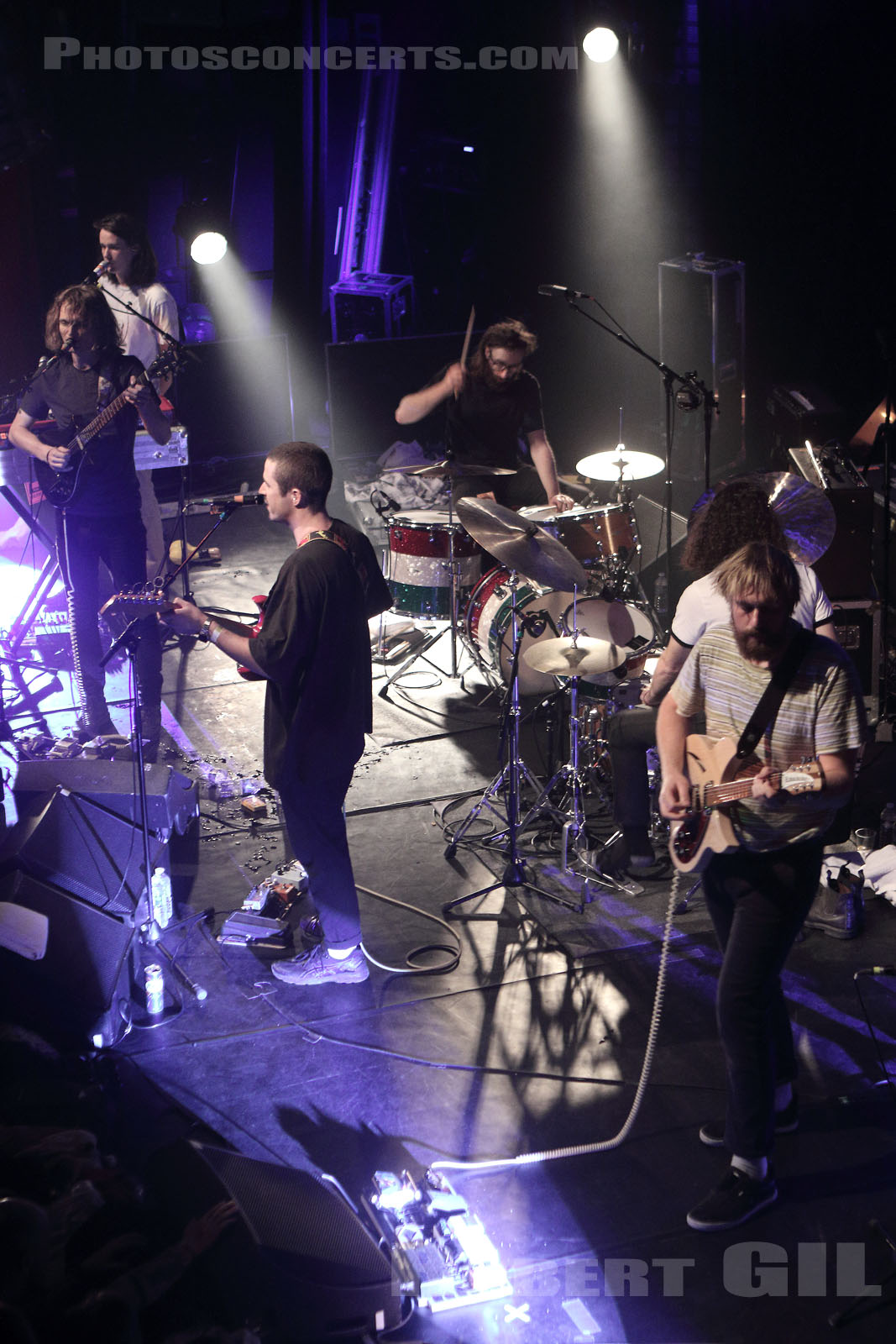KING GIZZARD AND THE LIZARD WIZARD - 2018-03-01 - PARIS - Le Bataclan