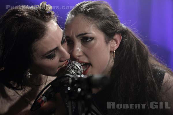 KITTY, DAISY AND LEWIS - 2011-10-12 - PARIS - La Maroquinerie