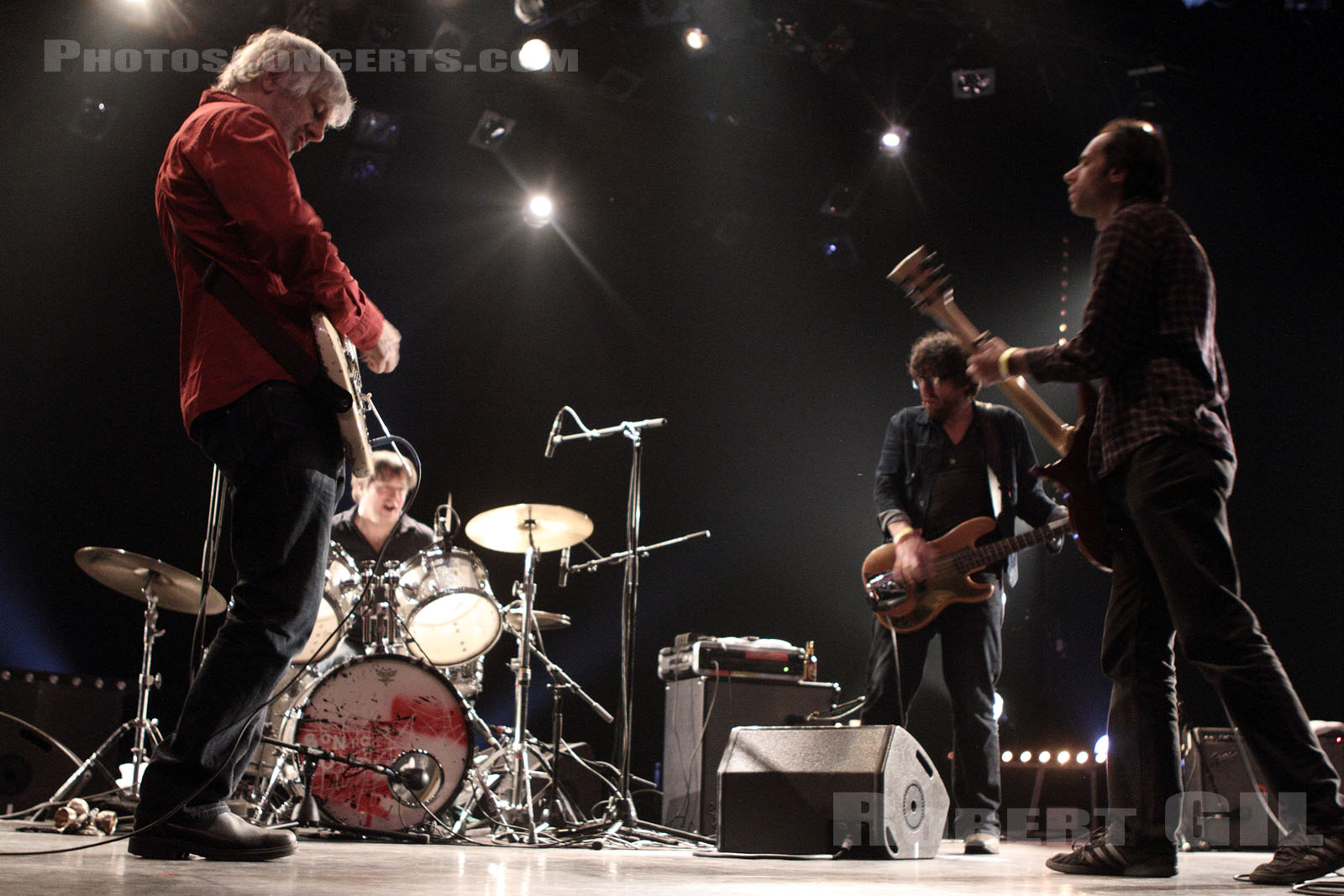 LEE RANALDO AND THE DUST - 2013-11-23 - BOULOGNE-BILLANCOURT - Carre Bellefeuille