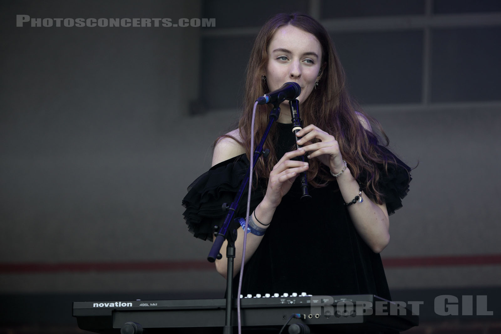 LET'S EAT GRANDMA - 2019-08-23 - SAINT CLOUD - Domaine National - Scene Firestone