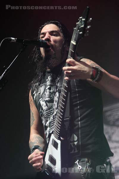 MACHINE HEAD - 2010-02-06 - PARIS - Zenith