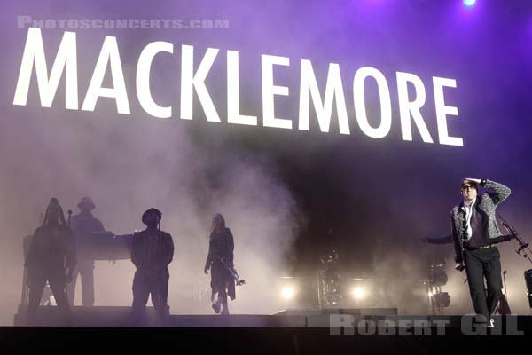 MACKLEMORE - 2019-06-21 - PARIS - Hippodrome de Longchamp - Paris