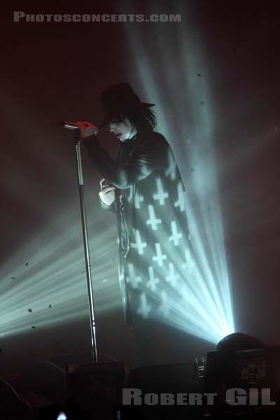 MARILYN MANSON - 2009-12-21 - PARIS - Zenith