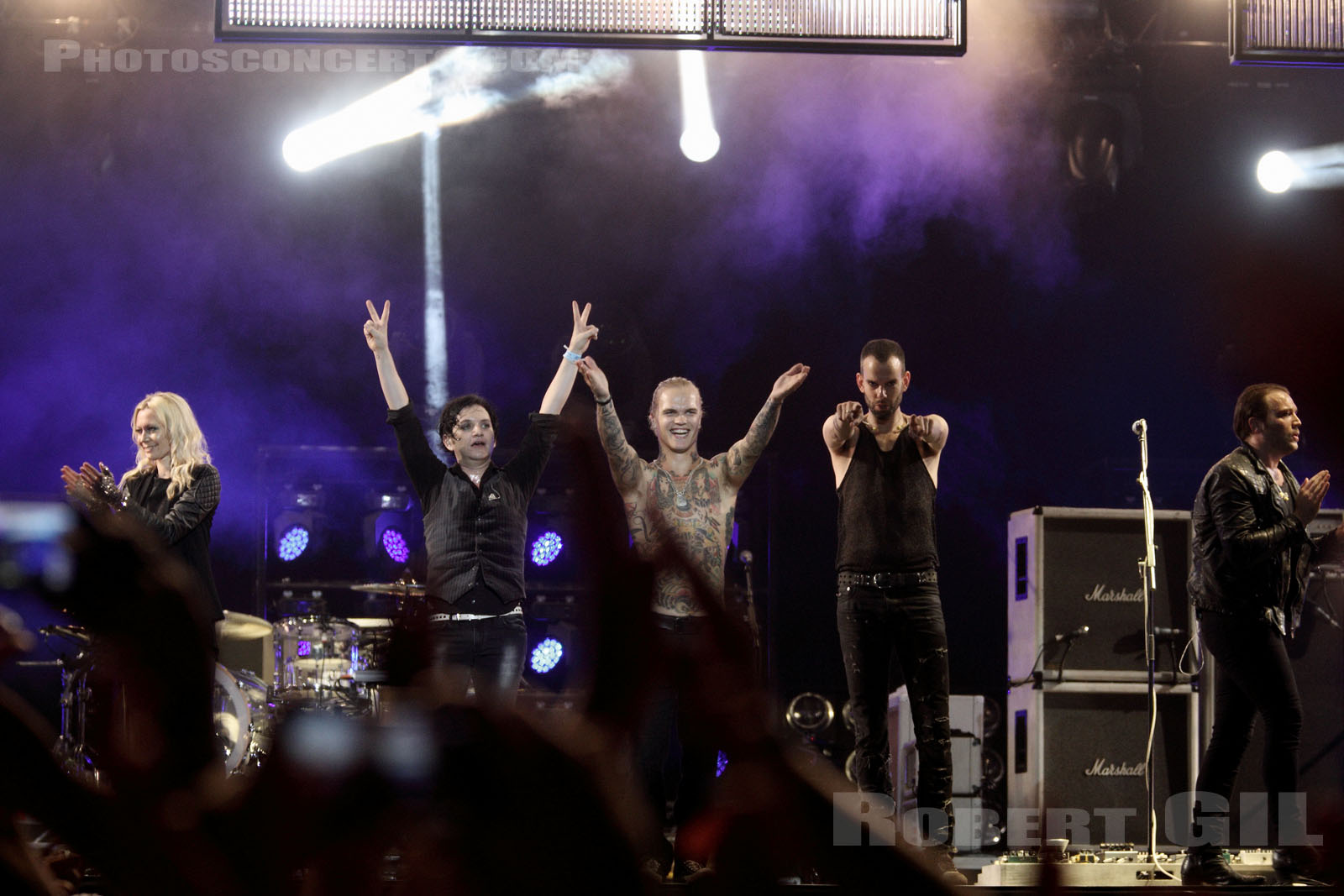 PLACEBO - 2012-08-24 - SAINT CLOUD - Domaine National - Grande Scene