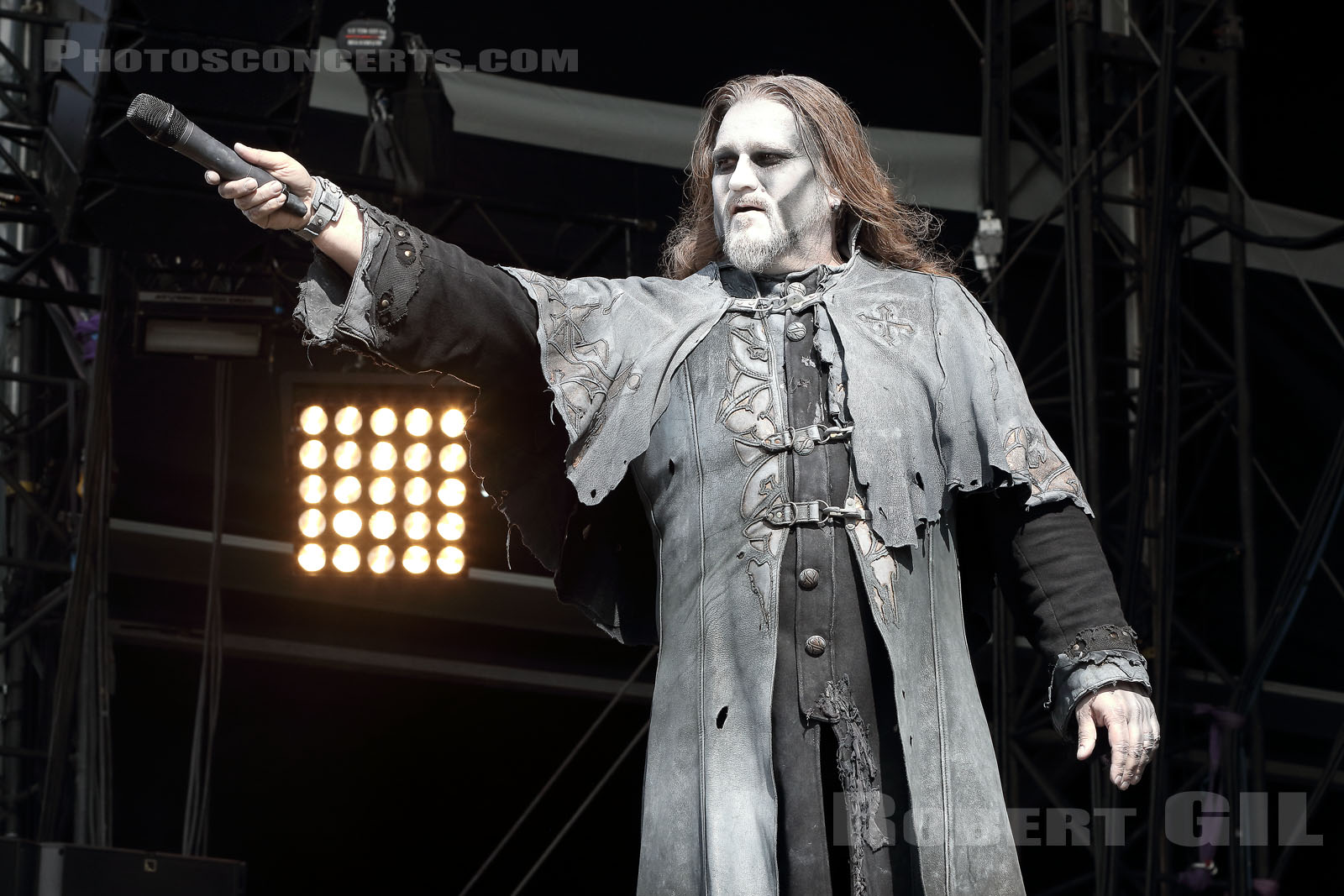POWERWOLF - 2018-06-15 - BRETIGNY-SUR-ORGE - Base Aerienne 217 - Main Stage