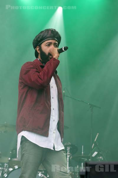 PROTOJE AND THE INDIGGNATION - 2017-07-09 - BELFORT - Presqu'ile de Malsaucy - Greenroom