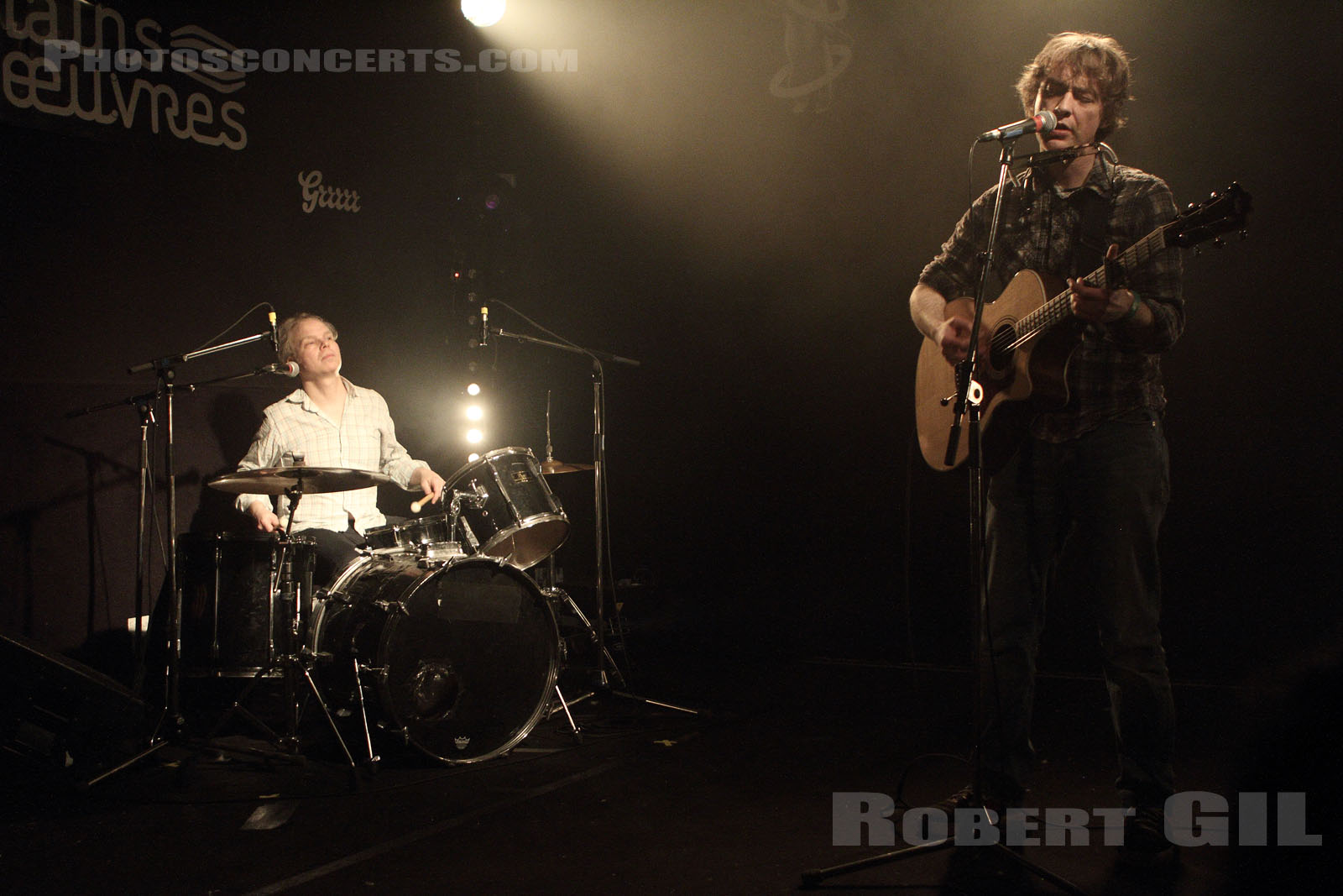 RICHARD YOUNGS - 2013-01-27 - SAINT OUEN - Mains d'Oeuvres