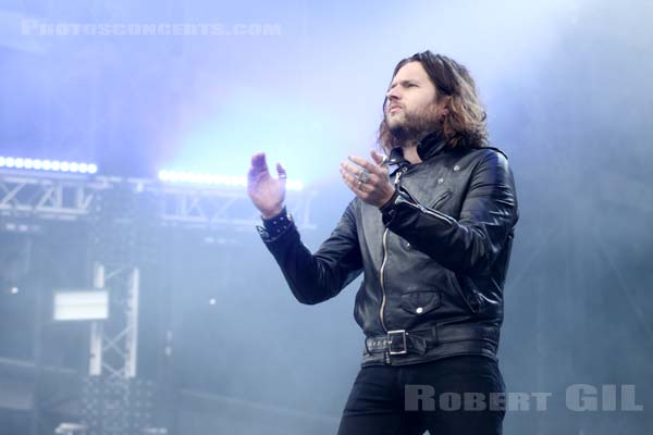 RIVAL SONS - 2016-06-12 - PARIS - Hippodrome de Longchamp - Stage 2