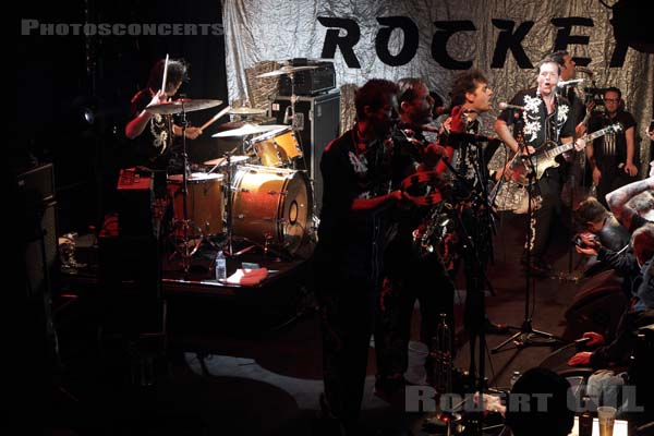 ROCKET FROM THE CRYPT - 2013-04-04 - PARIS - Trabendo