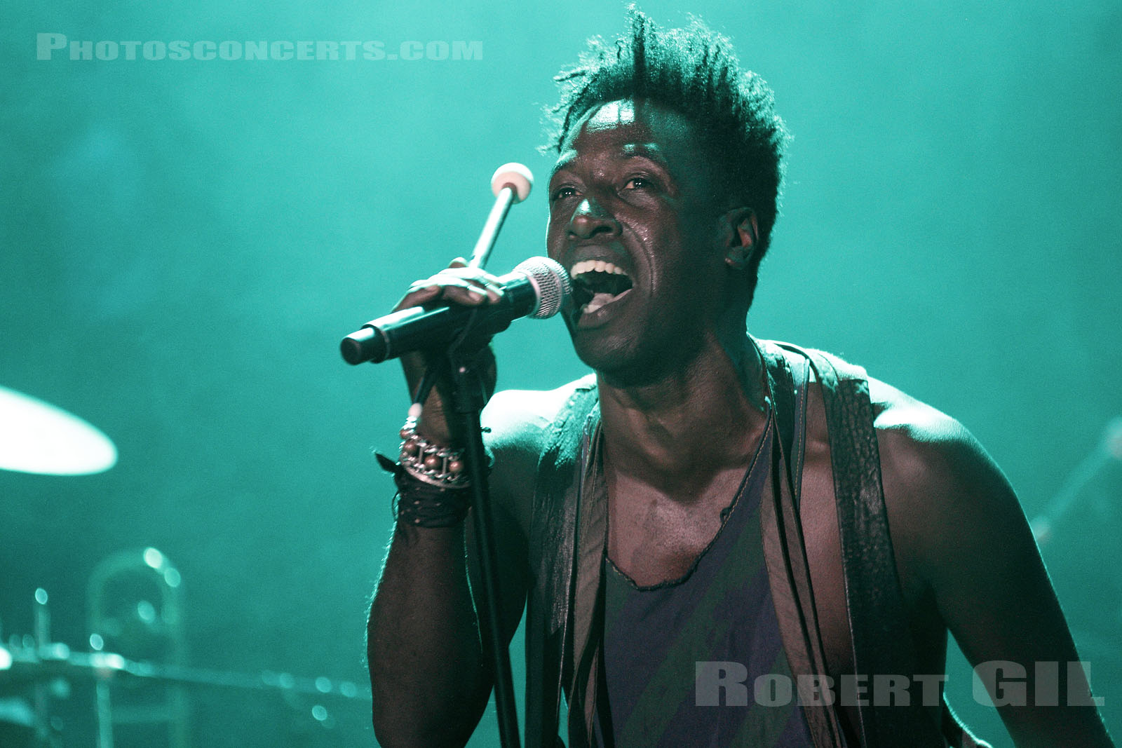 SAUL WILLIAMS - 2011-11-03 - PARIS - La Cigale